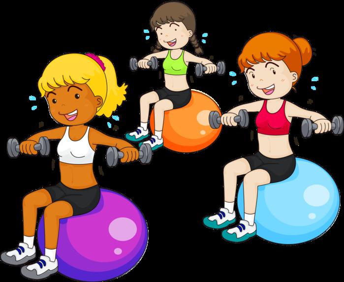 Картинка о физкультуре детей