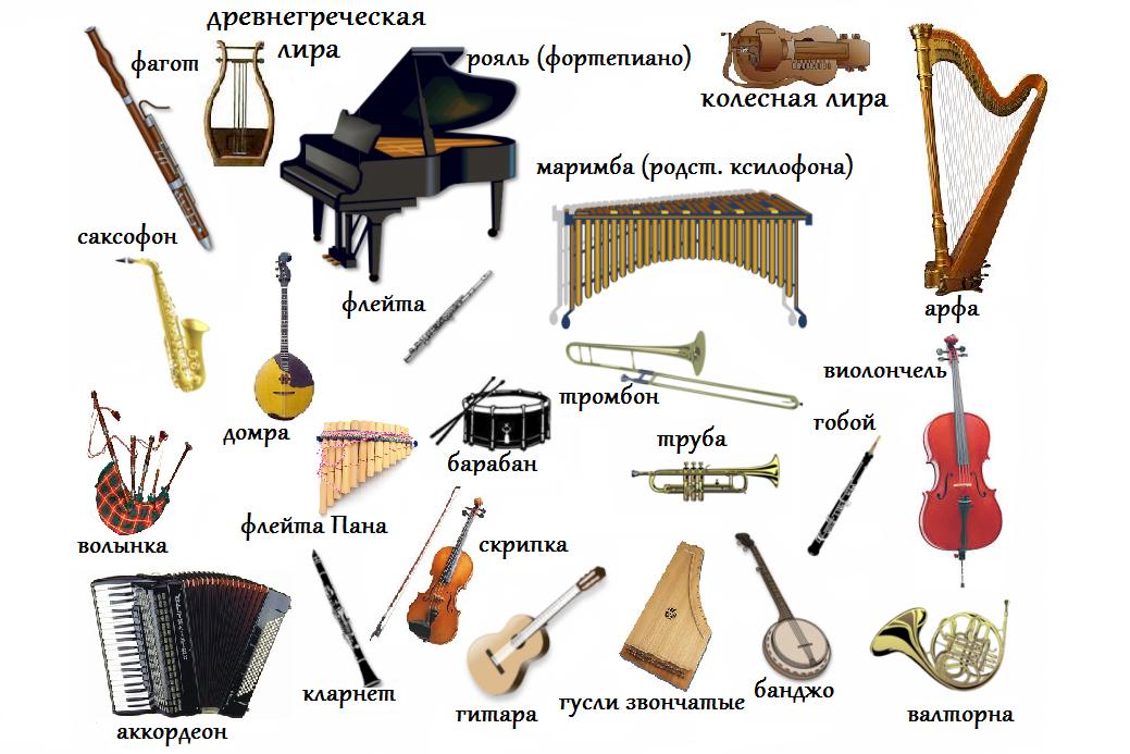 Реферат по музыке про инструменты 6929