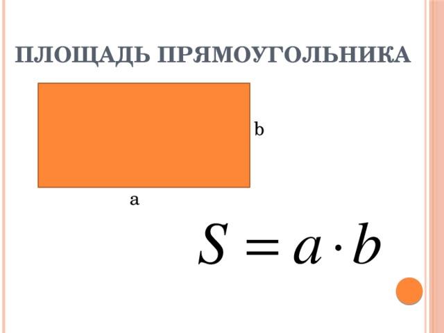Картинки площадь прямоугольника