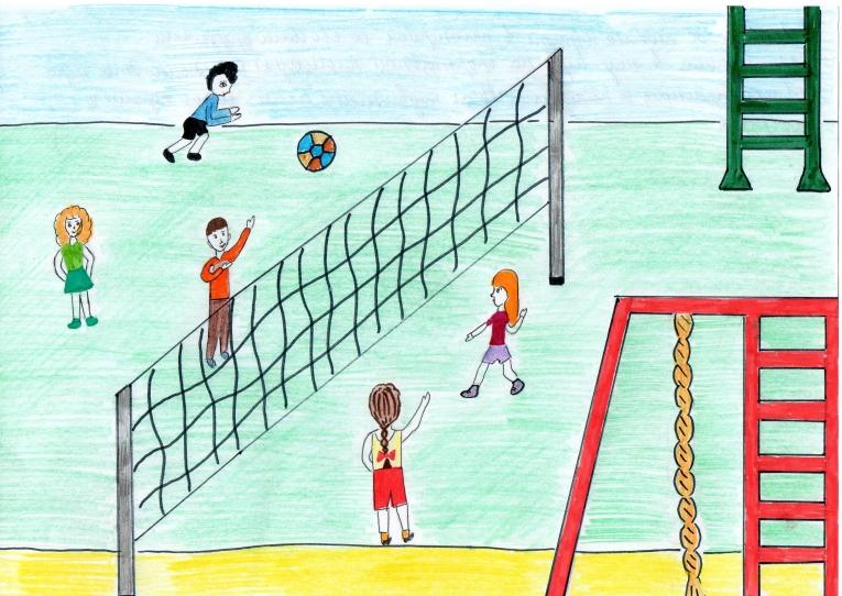 картинки для школы на тему спорта пола деревянном доме