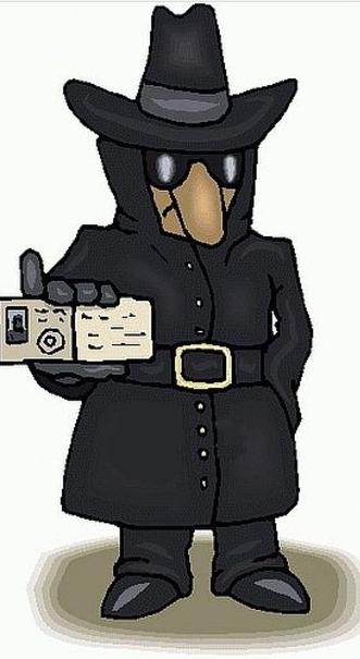 Для форума, картинка с надписью шпион