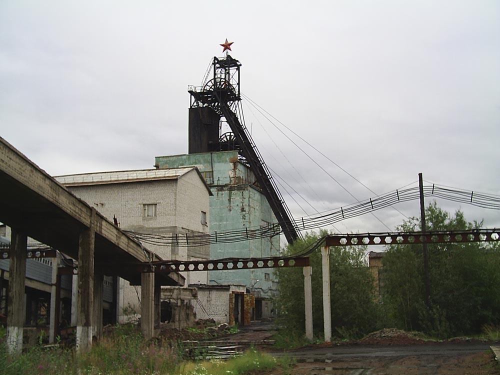 шахта восточная город инта фото карта