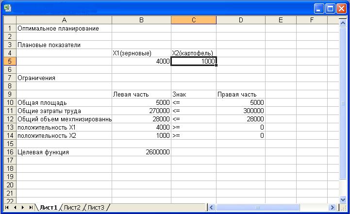 Модели оптимального планирования 11 класс семакин практическая работа работа по вемкам в серов