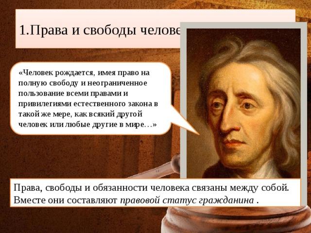 Конституционные права, свободы и обязанности человека и ...