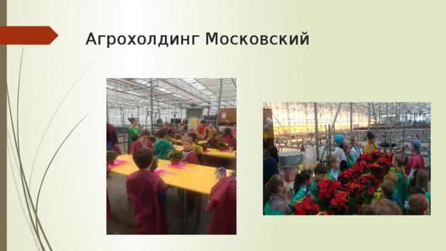 Агрохолдинг Московский