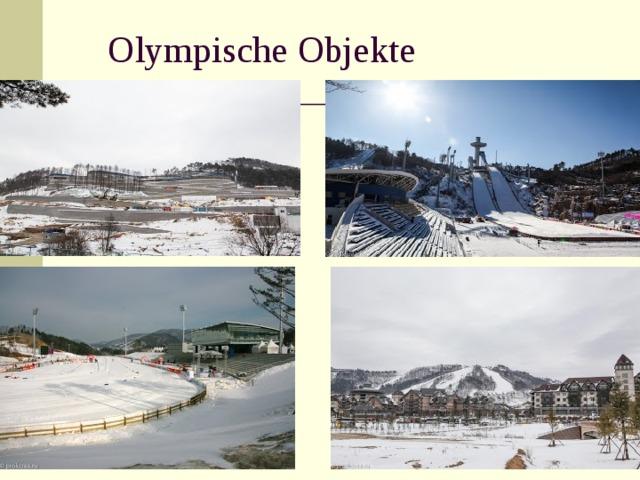 Olympische Objekte