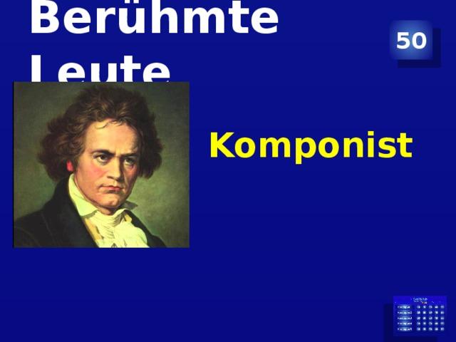 Berühmte Leute 50 Komponist