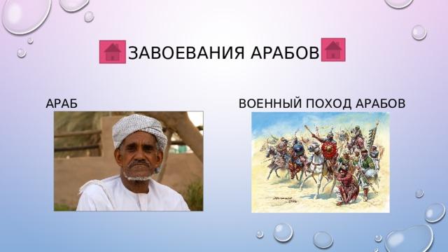 Завоевания арабов Араб Военный поход арабов