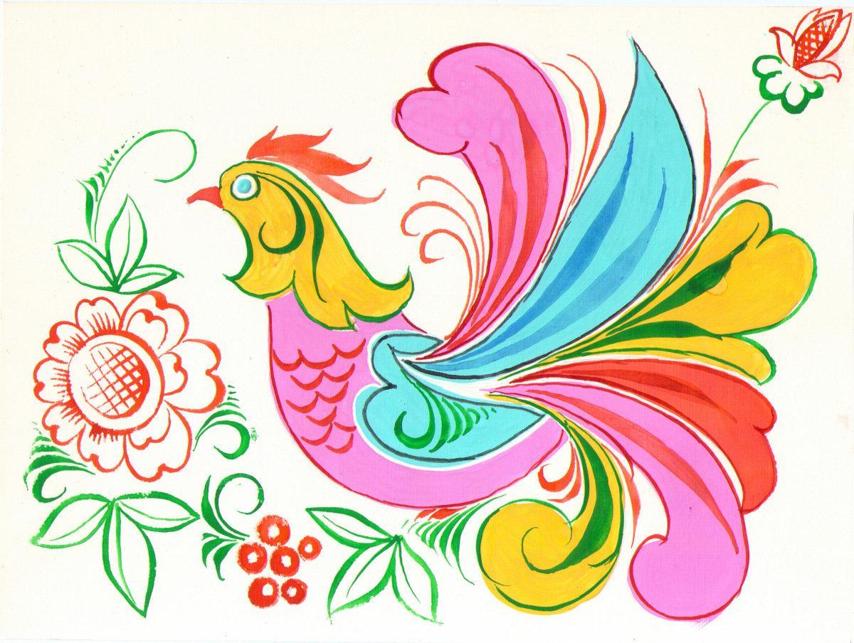 Птицы сказочные картинки для детей