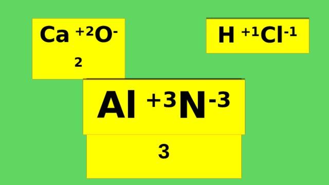 Ca  +2 O -2 H  +1 Cl -1 Al x +3 N y - 3 Al  +3 N -3