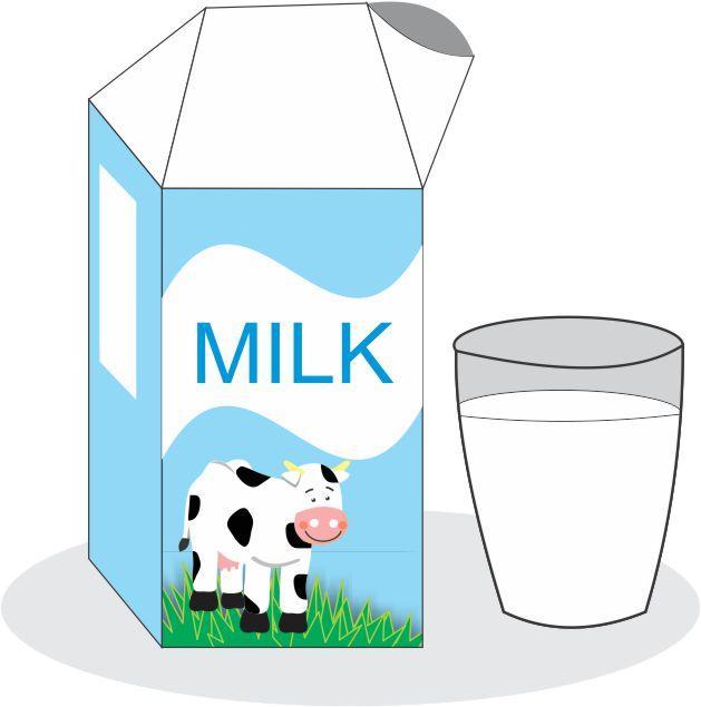 молоко картинка на английском два дня