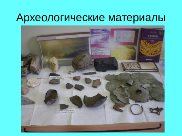 Археологические материалы
