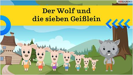 Das Märchen «Der Wolf und die sieben Geißlein»
