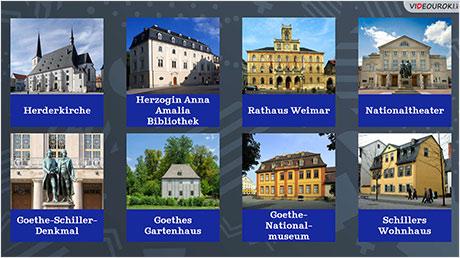 Deutsche Städte: Weimar