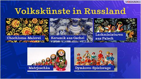 Volkskünste in Russland