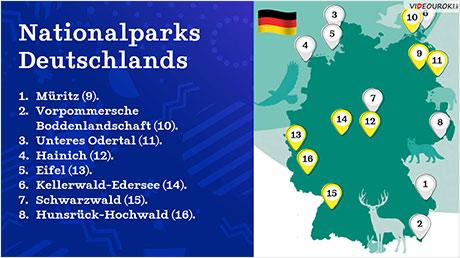 Nationalparks in Deutschland. Teil 2