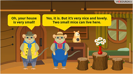 The Town Mouse and the Country Mouse. Part 1