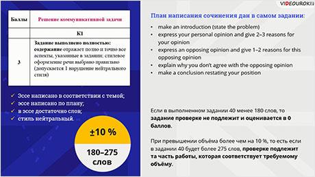 Критерии оценивания задания 40