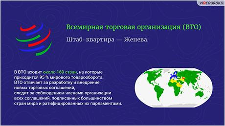 Международные экономические отношения. Мировой рынок