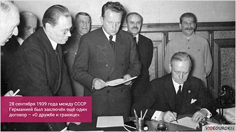 Внешняя политика СССР в 1920 – начале 1940-х годов. Великая Отечественная война