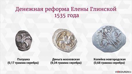 Российское государство в середине и второй половине XVI века