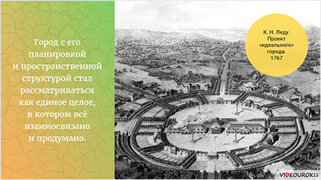Образ «идеального» города в классицистических ансамблях Парижа и Петербурга