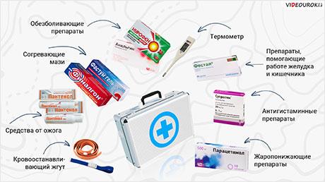 Походная аптечка. Лекарственные растения