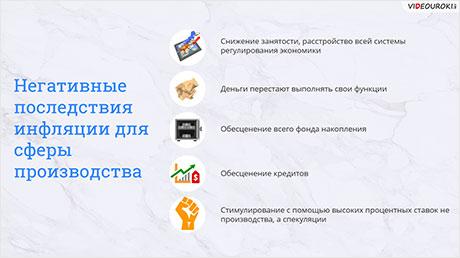 Инфляция. Экономический рост и развитие