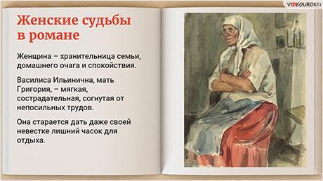 Картины жизни донских казаков на страницах романа «Тихий Дон»