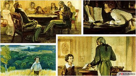 А. С. Пушкин. Детские и лицейские годы жизни поэта. Стихотворение «Няне»