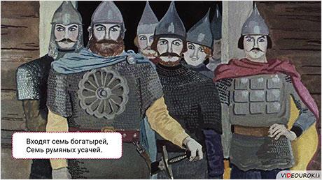 А. С. Пушкин. «Сказка о мёртвой царевне и о семи богатырях»