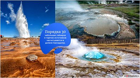 Тепло подземных вод и природных фонтанов