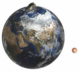 Какой спутник менял траекторию своего движения
