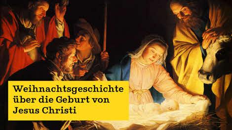 Wo Steht Die Weihnachtsgeschichte In Der Bibel