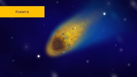 Астероиды кометы метеоры метеориты 5 класс